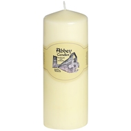 3  X  8  Ivory  Church  Candle