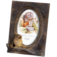Wise Old Owl Photo Frame