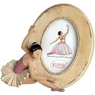 Little  Girl  Ballerina  Portrait  Photo  Frame