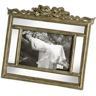 Antique  Mirrored  Photo  Frame  24  X  21cm