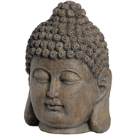 Meditating  Buddha  Head  -  Large  40cm  Tall