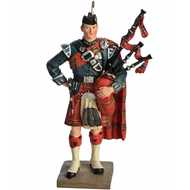 Royal  Highland  Fusilier  Piper  Figurine