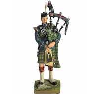 Highlanders  Piper  Figurine
