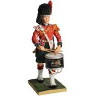 Black  Watch  Side  Drummer  Figurine