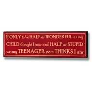Half  As  Wonderful  Plaque