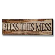 Bless  This  Mess  Plaque