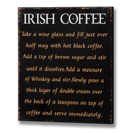Irish  Coffee  Plaque