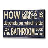 How  Long  A  Minute  Is  Plaque