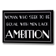 Ambition  Plaque  -  Spelling  Mistake