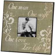 One Man One Love Photo Frame