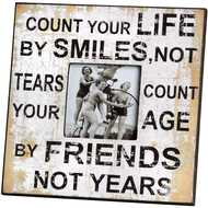 Count Your Life Photo Frame