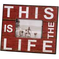 This Is The Life (Red) Photo Frame