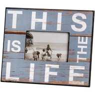 This Is The Life (Blue) Photo Frame