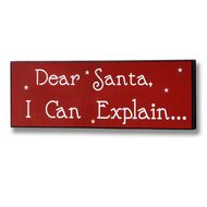 Dear  Santa...  Christmas  Plaque