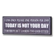I  Can  Only  Please  One  Person  Per  Day  -  Today  Is  Not  Your  Day