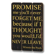 Never  Forget  Me  Plaque