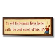 Best  Catch  Of  His  Life  Plaque