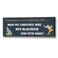 Peter  Rabbit  Plaque