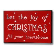 Joy  Of  Christmas  Plaque