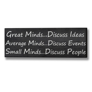 Great  Minds  Plaque