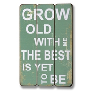 Grow  Old  With  Me  The  Best  Is  Yet  To  Be  Plaque