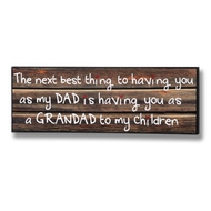 Grandad  To  My  Children  Plaque