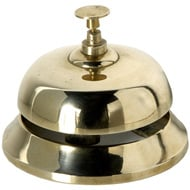 Solid Brass Desk Bell