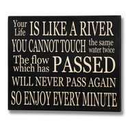 Enjoy  Every  Minute  Plaque