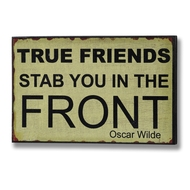True  Friends  Plaque