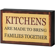 Kitchen  And  Family  Shelf  Plaque
