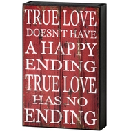 True  Love  Shelf  Plaque