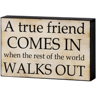 True  Friend  Shelf  Plaque