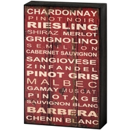 Wine  Shelf  Plaque