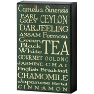 Tea  Shelf  Plaque