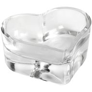 Small  Glass  Heart  Tea  Light  Holder