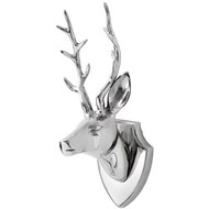 Small stags head wall sculpture