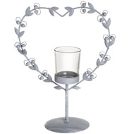 Heart  Garland  Tea  Light  Holder