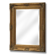Rectangular  Gilt  Framed  Mirror  -  50  X  70  Cm