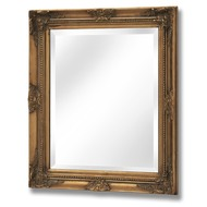Rectangular  Gilt  Mirror  -  50  X  60  Cm