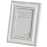 4  X  6  Antique  White  Photo  Frame