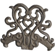 Cast  Iron  Door  Stop  -  Rustic