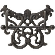 Cast Iron Toilet Roll Holder - Rustic