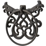 Cast  Iron  Towel  Ring  -  Rustic