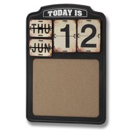 Metal  Calendar  Pin-board