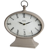 Oval  Paris  Clock
