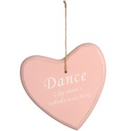 Large  Hanging  'dance'  Heart