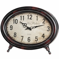 Oval  Sideboard  Clock