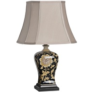Laurium Flower Pattern Ceramic Table Lamp