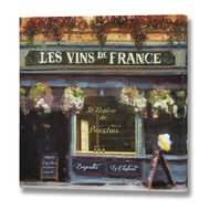 Les Vins de France Canvas