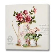 Botany Roses Canvas